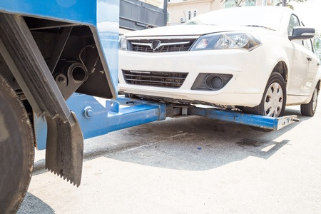 VEHICLES CAN BE TOWED AND IMPOUNDED FOR 30 DAYS.